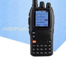 Talkie-walkie KG-UV9D VHF136-174MHz et UHF400-512MHz Radio bi-bande (Mode Duplex) double bandes TX, sept bandes RX Radio bidirectionnelle