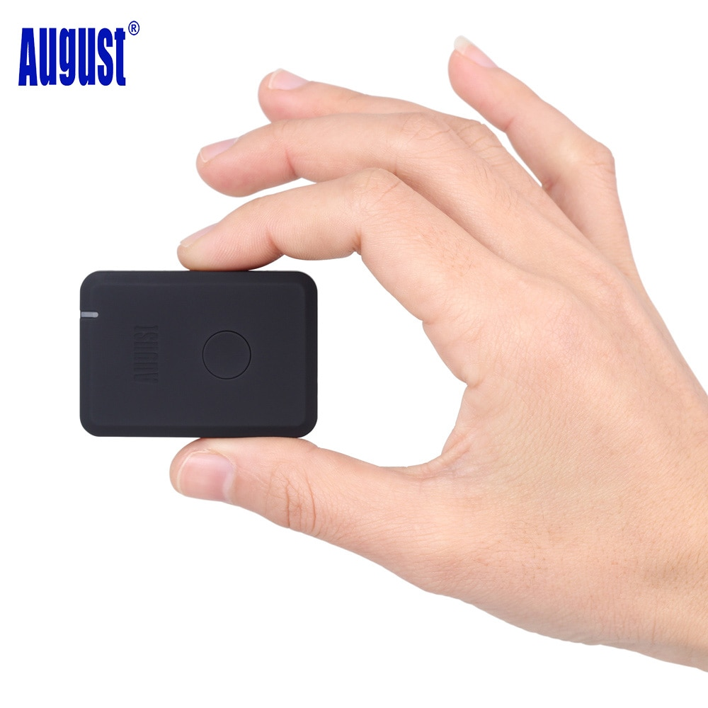 Agosto MR230 receptor inalámbrico 4,2 Bluetooth aptX baja latencia 3,5mm AUX Bluetooth Audio música adaptador para auriculares de altavoz de coche