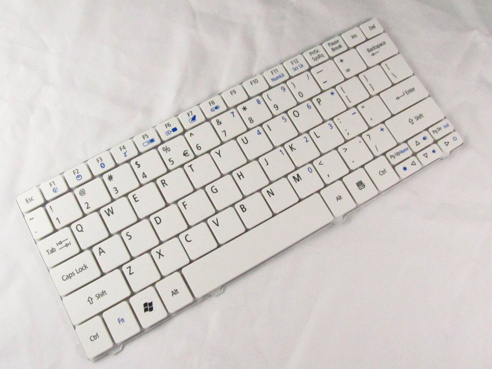 New Keyboard for Acer Aspire One 721 721H AO721 722 AO722 ZH7 ZA5 ZA3 SJM11 White