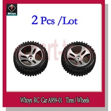 A959 Wheel Suitable for Left and Right A959-01 Tire for Wltoys A959 RC Car Spare Parts