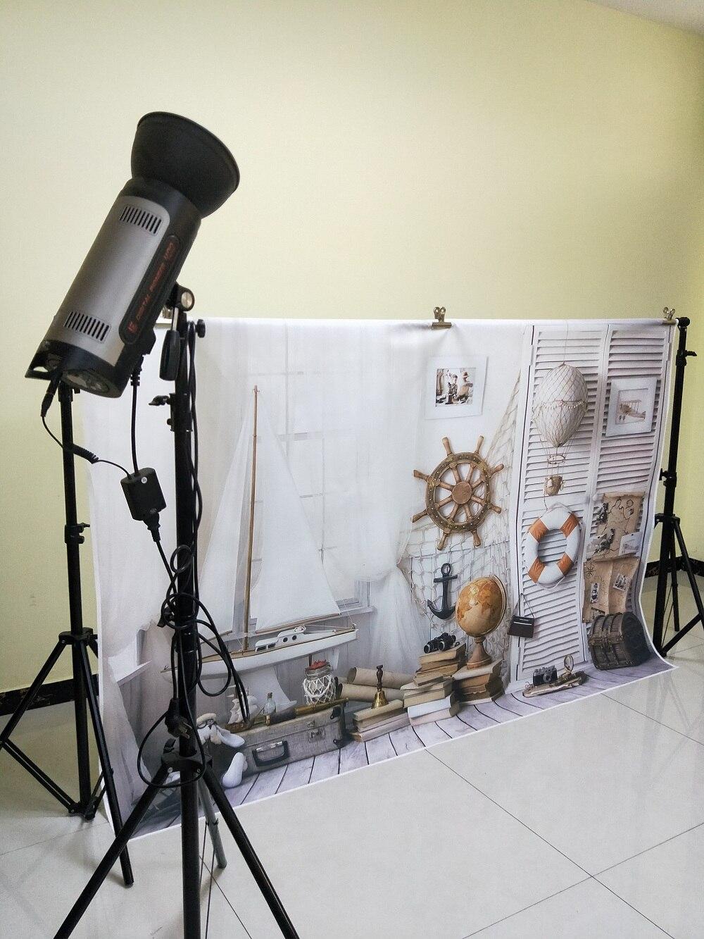HUAYI Background Marine Supplies Vinyl Photography Backdrop Custom Portrait Studios Newborn Background XT-5766 enlarge