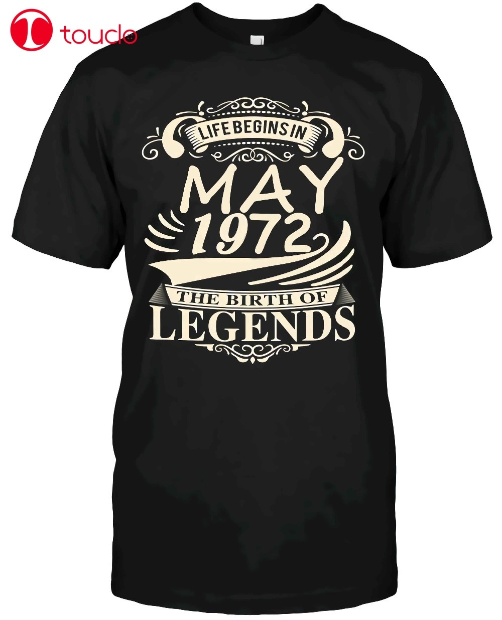 Life Begins In May 1972 The Birth Of Legends Custom Made Sweater