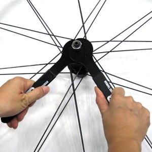 Llave de cono de cubo Super B TB-8649 para borde deslizante de 14mm diseñado para facilitar el movimiento de las llaves en la herramienta de reparación de bicicletas cónicas