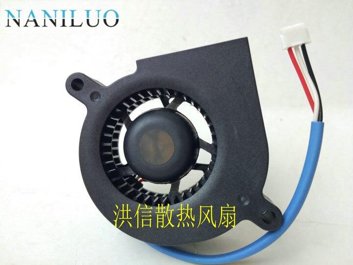 NANILUO Freies Verschiffen 4,5 cm GB1245PKV1-8 4510 12 v 0,5 watt 3 draht gebläse lüfter gb1245pkv1-8ay