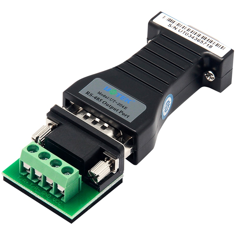 RS-232 to RS-485 Converter  Industrial RS 232 to RS 485 serial converter DB9 adapter