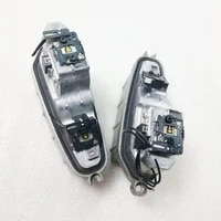 one pair 2 pieces original car headlight lightsourse led drl module control unit oem for audi q3 genuine and used