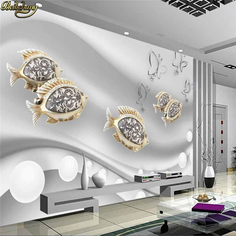 beibehang vinyl wall custom abstract 3d square crystal rose wallpaper tv background wallpaper home decoration papel de parede 3d beibehang papel de parede Custom Photo Wallpaper Mural Fashion Goldfish Jewelry 3D TV Background Wall wall papers home decor