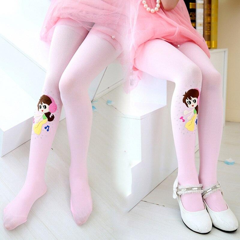 Nuevas mallas brillantes de Color caramelo para niñas, pantalones de primavera y otoño para niños, mallas para adolescentes y niñas
