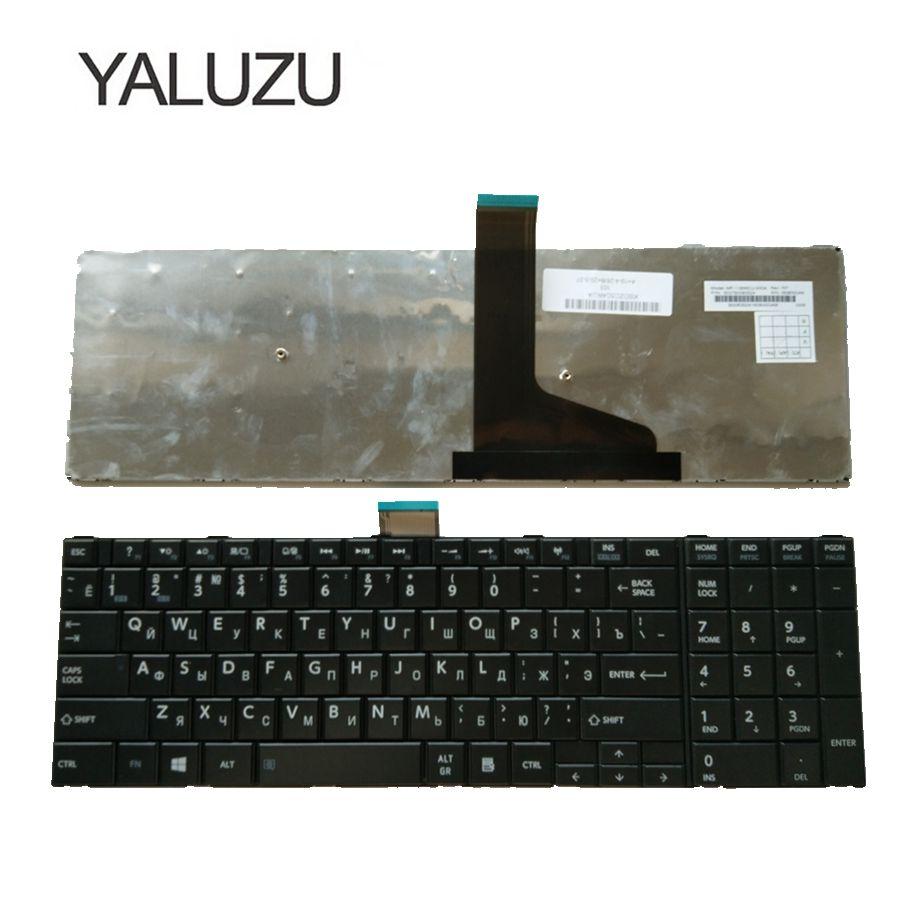 YALUZU новая RU клавиатура для Toshiba Satellite C75D L70 L75 S50 S55 C70 C70-A C70D C75 черная Русская клавиатура для ноутбука