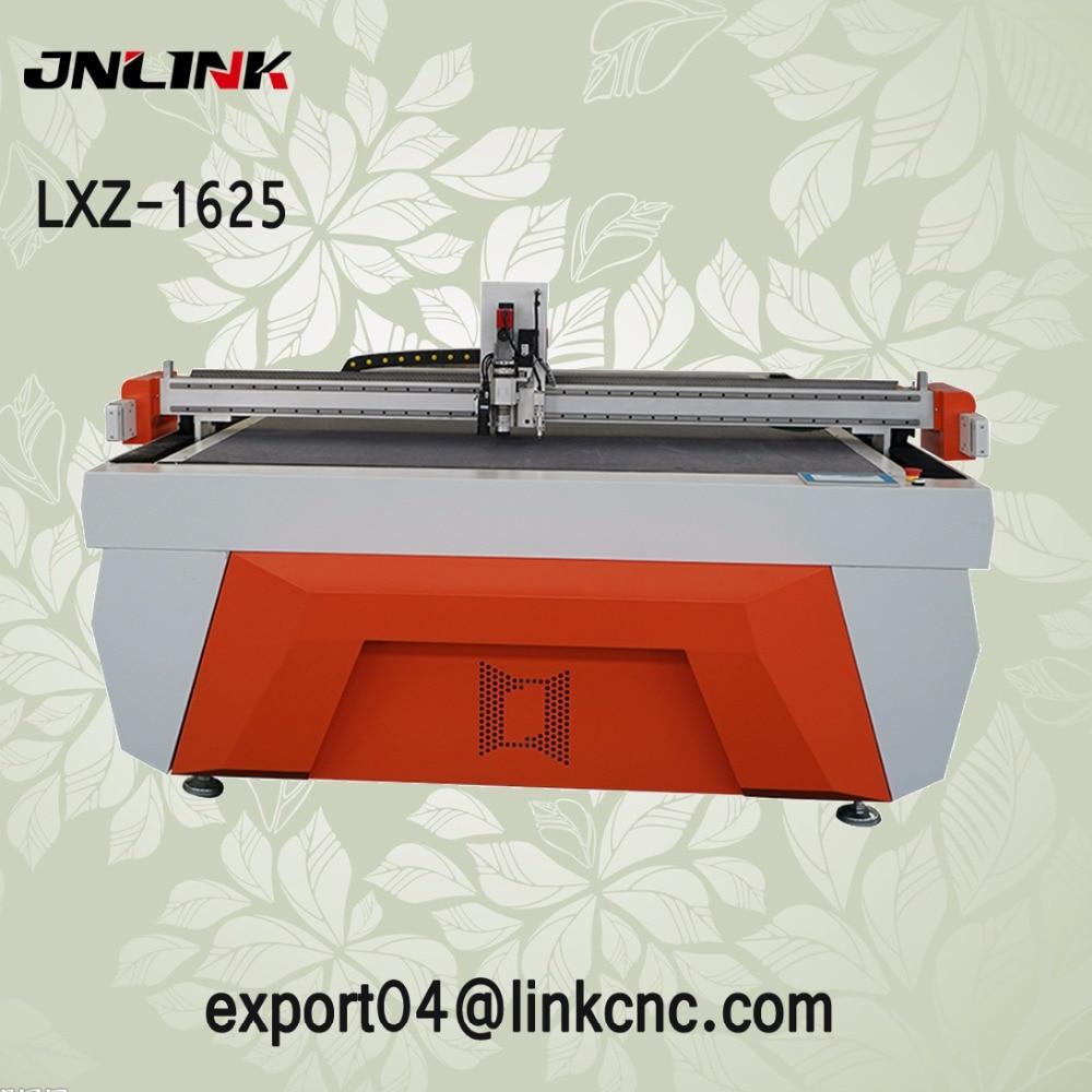 Cortadora de cuchillos oscilatorios cnc de base plana JNLINK para alfombras de cartón corrugado