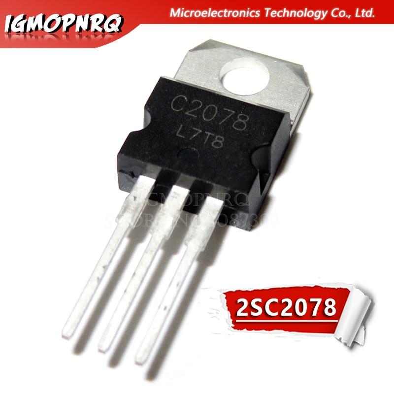 10 шт. Бесплатная доставка C2078 2SC2078 3A 80В NPN Высокочастотный канальный транзистор новый оригинальный