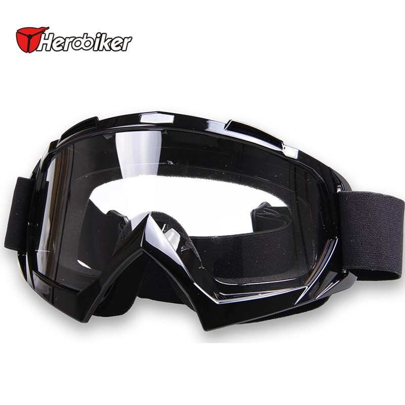 Men's Camouflage Snow Goggles Ski Goggle Clear Lens Snowboarding Sport Winter black frame clear lense T815-7