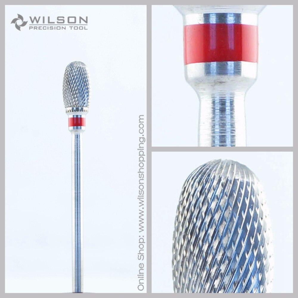 Corte transversal-fino (5000230)-iso 140-burs de carboneto de tungstênio-carboneto de wilson broca de unha e burs dentários
