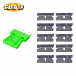 Image 3 - EHDIS скребок для бритвы + 10 шт., инструменты для тонировки окон, виниловая пленка для автомобиля, Ракель, стикер для стайлинга автомобиля, удалитель клея