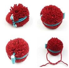 Pompon Pom-Pom essentiel 1 jeu   4 tailles, outil de tricot artisanal, bricolage, couleur aléatoire