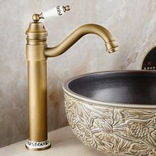 Robinet de lavabo en céramique Antique   Robinet de salle de bains, torneira banheiro robinet de salle de bains vintage évier robinet en céramique robinet deau mélangeur de lavabo, eau