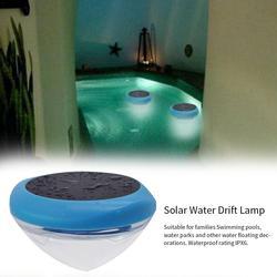 Ipx6 à prova dwaterproof água luzes da piscina à prova dsolar água solar deriva lâmpada à prova dwaterproof água luz decorativa para piscina parque de água spotlight