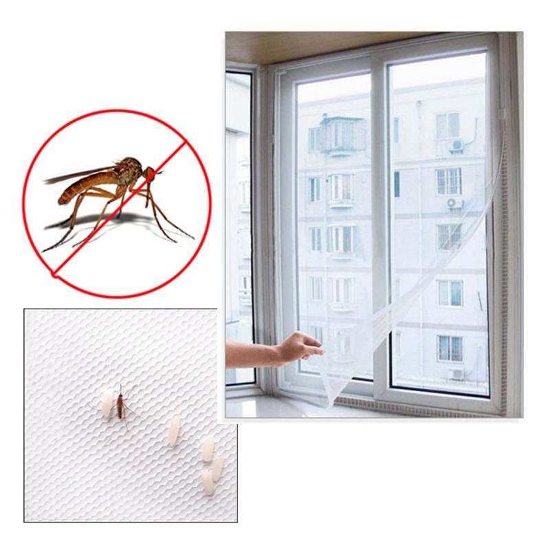 Mosquitera de malla para ventana, cortina con mosquitera para el hogar, nuevo...