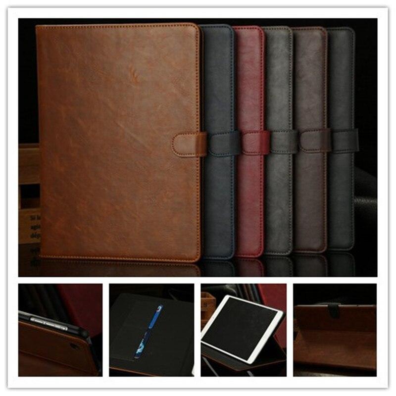 Venta al por mayor nuevas de cuero caso para funda de ipad air... Folio Stand Protector de la piel para ipad 5 Caballo Loco patrón slim para ipad air