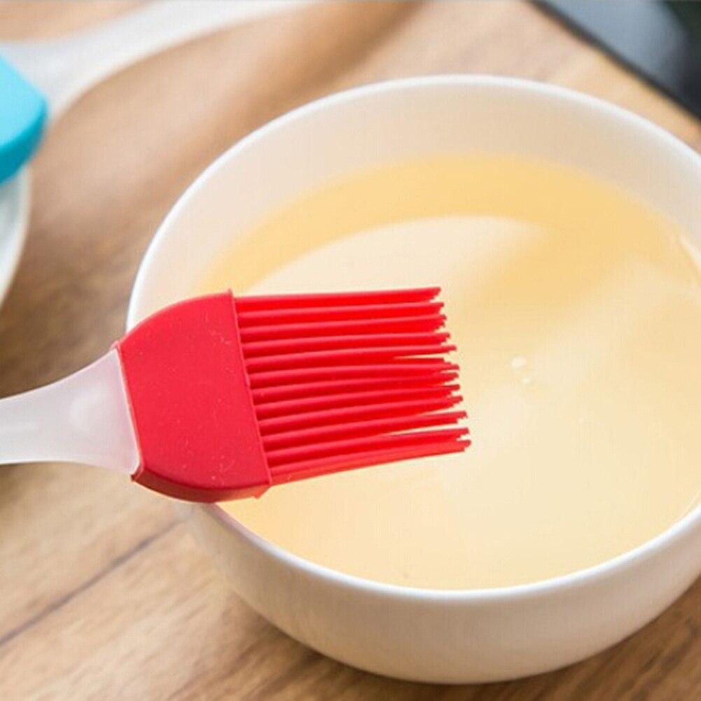 Ferramentas PARA CHURRASCO Escova de Óleo de Silicone de alta temperatura de Cozimento Escova Óleo De Pastelaria Bakeware Cozinhar Ferramentas de Churrasco Basting Escova Ternos