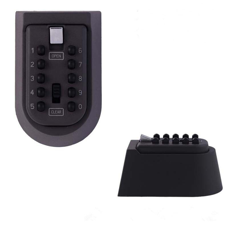 Cerradura Digital con combinación de contraseña, llave montada en la pared, caja de bloqueo segura, caja de seguridad