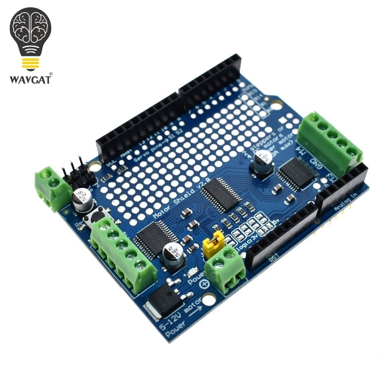 official IIC I2C TB6612 Mosfet Stepper Motor PCA9685 PWM Servo Driver Shield V2 For Arduino Robot PWM Uno Mega R3 Replace L293D