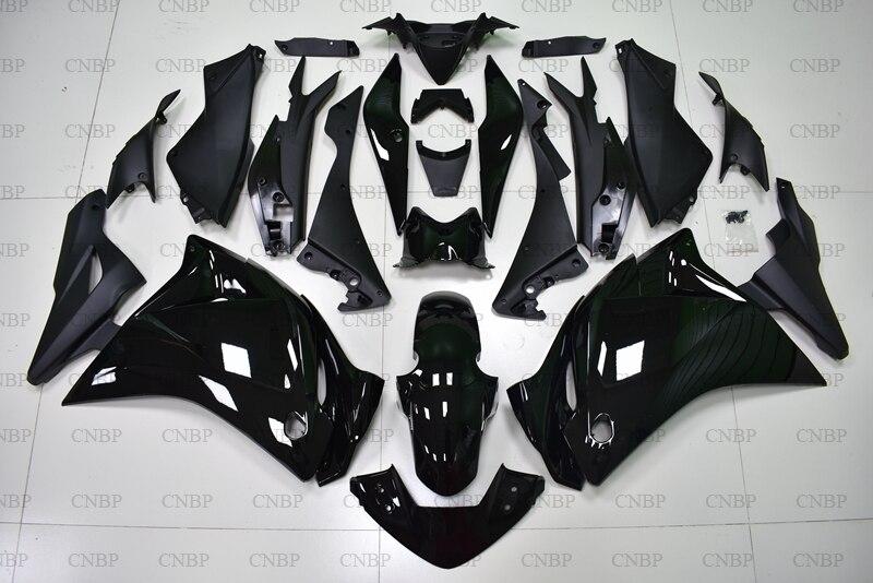 CBR 250 RR 11 12 carenado de Abs CBR250 RR 2011 - 2014 negro brillante de cuerpo completo Kits de CBR250 RR 2013 carenado de Abs