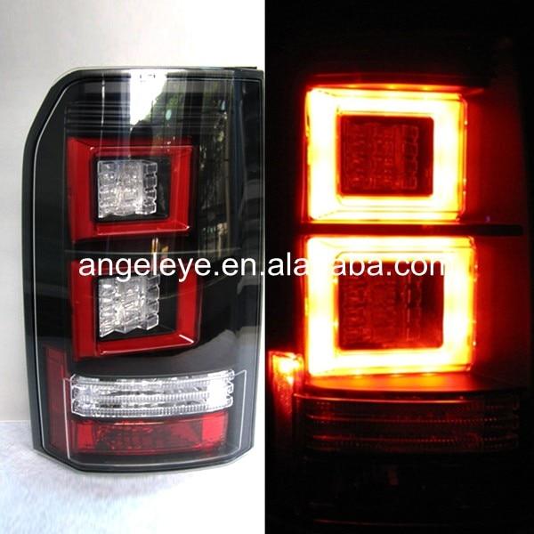 Año 2004-2013 para Land Rover, para discotecas, luz trasera LED, luz trasera, rojo oscuro