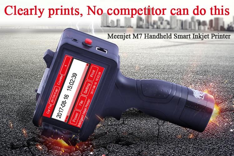 Новый легкий контроль портативный струйный пакетный принтер Сделано в Китае дешевая цена