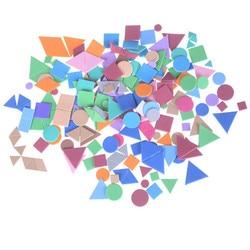 Crianças Brinquedo forma Mista adesivos de espuma Irregular figura geométrica puzzle de Espuma de artesanato Do Jardim De Infância estoque