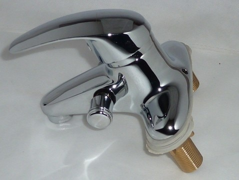 Grifos Para lavabo de dos agujeros, mezclador de dos orificios disponible con...