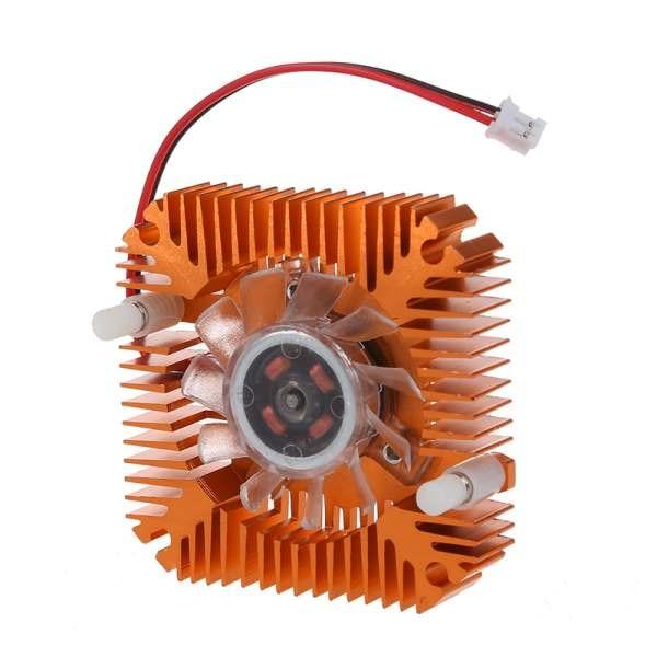 YOC Горячая PC ноутбук процессор VGA Видеокарта 55 мм кулер вентилятор охлаждения радиатора