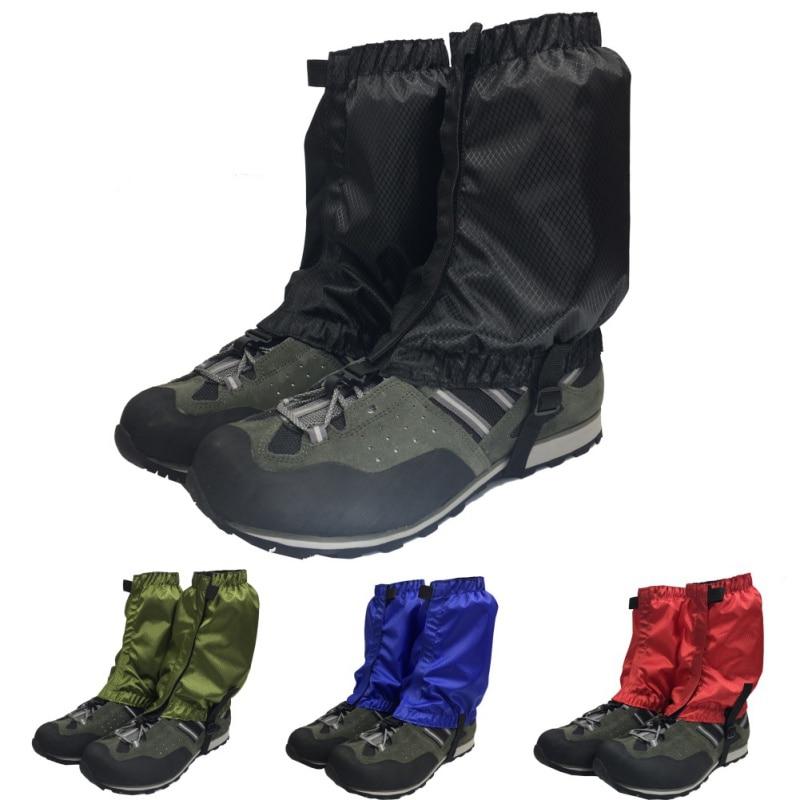 1 par Impermeável Ao Ar Livre Caminhadas Caminhar Escalada Caça Neve Legging Polainas polainas de esqui Equitação pé tampa