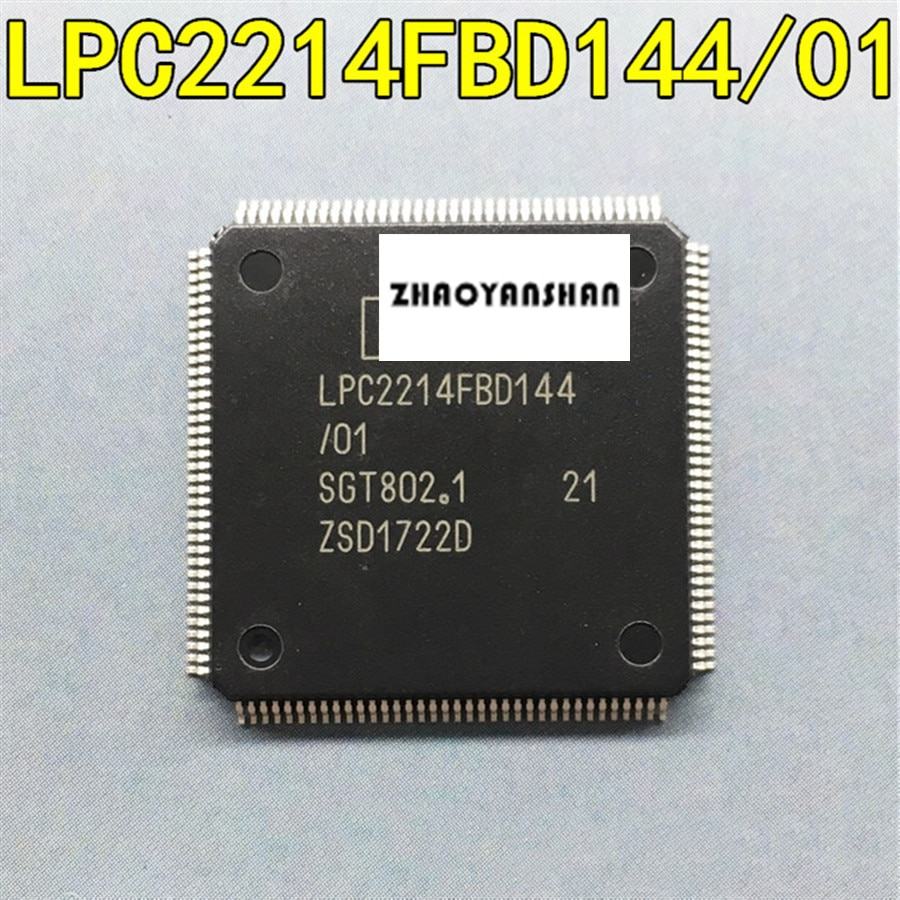Pcs X LPC2214FBD144 10 LPC2214 LQFP-144 NOVO Frete Grátis