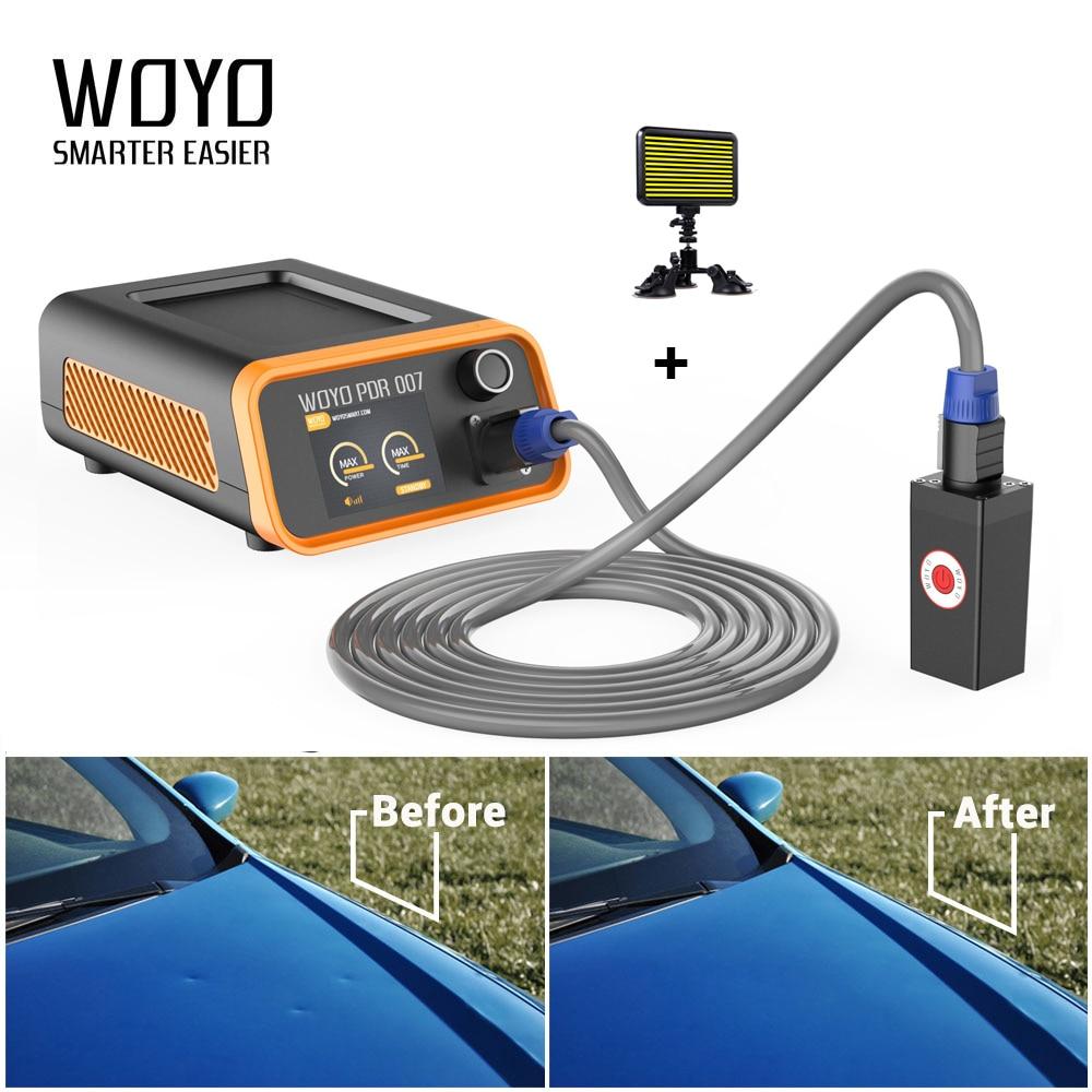 WOYO PDR-007 reparación de carrocería de coche Kits de herramienta Dent eliminación Kits de herramientas de reparación de HOTBOX herramientas PDR