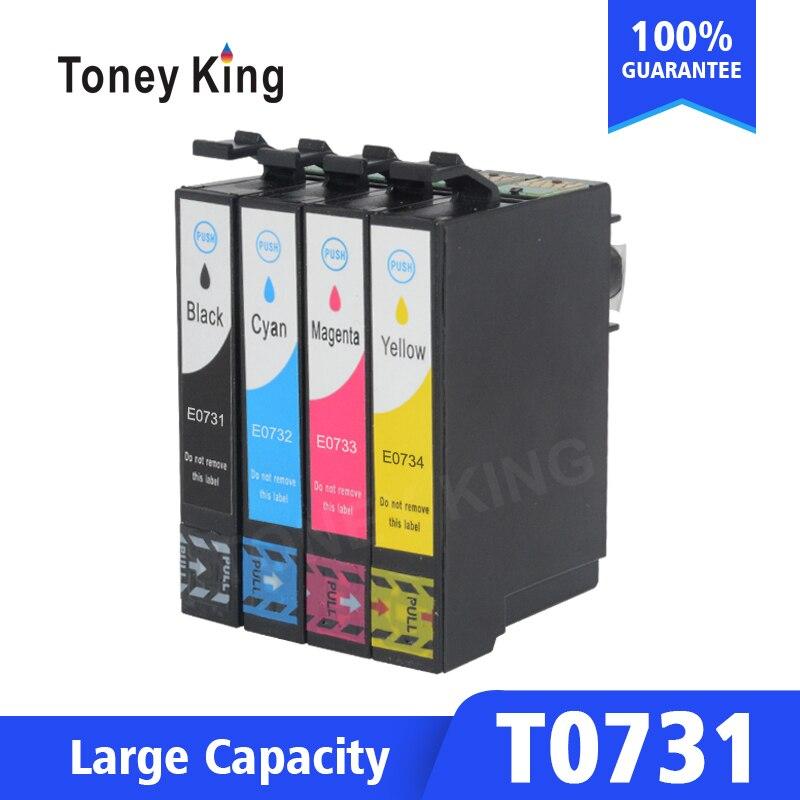 T0731 - T0734 73N Ink Cartridge For Epson Stylus CX3900 CX7300 CX8300 TX210 C79 C90 CX3905 CX4900 CX4905 CX5500 CX5600 Printer
