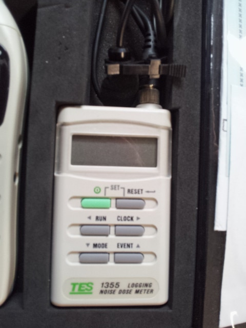 TES-1355 Datalogging Sound Level Tester / Noise Dose Meter   RS-232