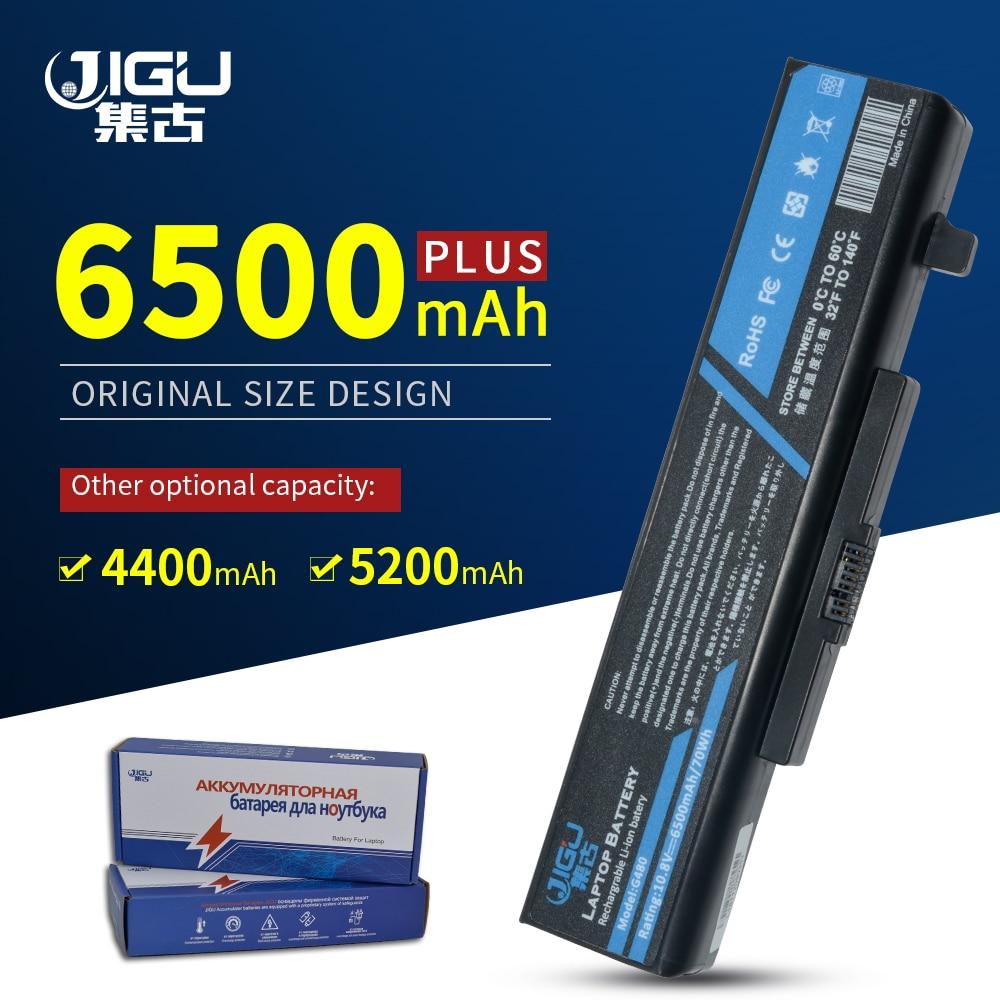 JIGU 6 celdas batería para ordenador portátil, L11L6Y01 L11S6Y01 para LENOVO Y480 Y480P Y580 G480 G410 Z380 Y485 G485 G580 Z380A Z380AM G580AM
