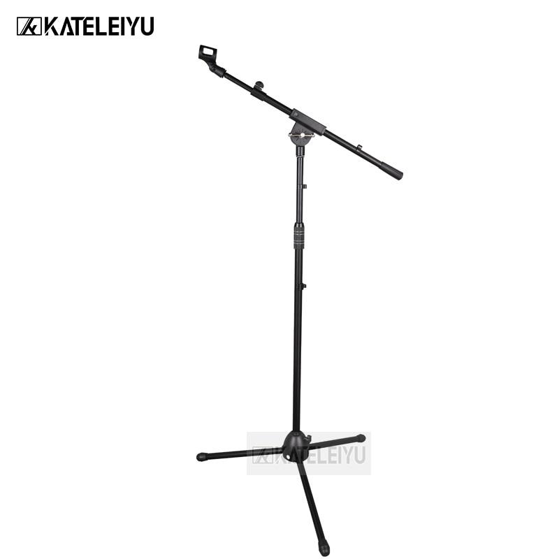 BY 750 профессиональная Поворотная стрела напольная стойка держатель микрофона