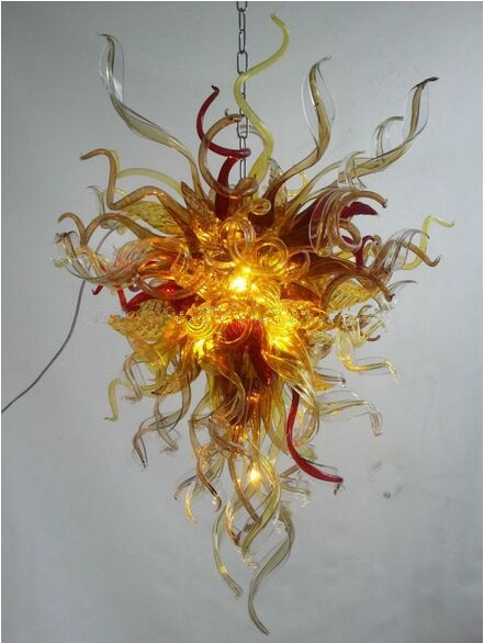 Made in China Italy Design Unique Shape Blown Glass Chandelier