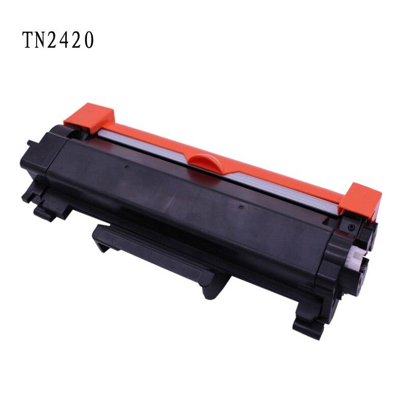 2PKS TN2420 cartucho de tóner de reemplazo para el hermano DCP-L2530DW MFC-L2730DW MFC-L2750DW MFC L2750DW MFC-L2710DW No Chip