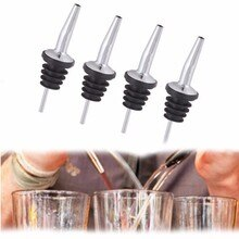 Gran oferta 4 Uds moda aceituna cóctel de aceite botella de vinagre bebidas licores Bar dispensador para verter licor para drop shipping