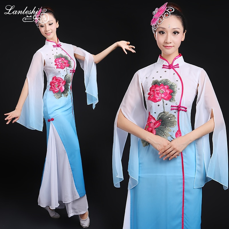 زي الرقص الشعبي الوطني للنساء, ملابس تنكرية نسائية كلاسيكية مناسبة للرقص على المسرح