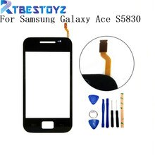 RTBESTOYZ capteur décran tactile pour Samsung Galaxy Ace S5830 S5830i GT-S5830 pièces décran tactile de numériseur de verre de fenêtre