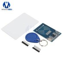 10 шт. MFRC-522 RC-522 RC522 RFID IC беспроводной модуль для Arduino SPI Writer Reader IC Card Proximity Module