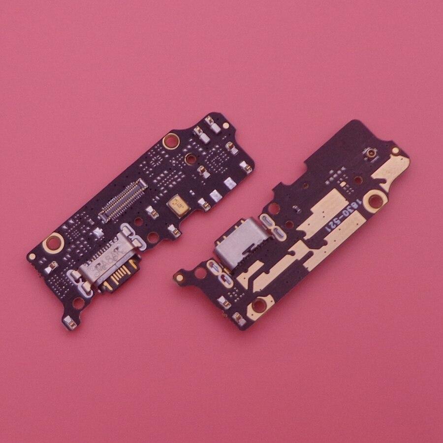 Para Xiaomi mi 6x mi 6x A2 mi A2 cargador USB puerto de carga conector de base con mi crophone de piezas de recambio de cable FLEX