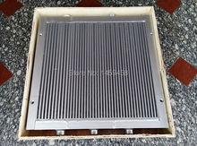 Refroidisseur dair en plaque daluminium   Pour compresseur dair à vis à 1625165902(1625 1659 02), livraison gratuite