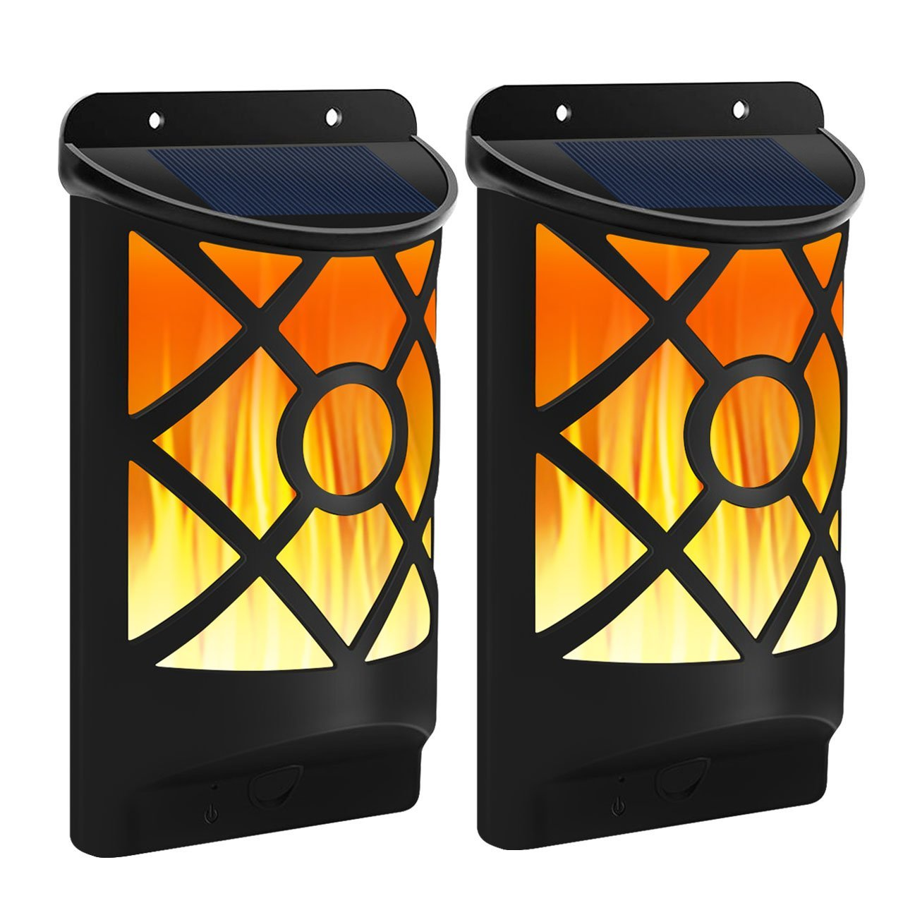 Luz solar led para exteriores, lámpara con sensor de movimiento, para acampar