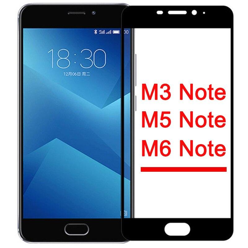 Защитное стекло для Meizu M3 M5 M6 note закаленное стекло чехол для Maisie Meizy M 5 6 3 M5note M6note M3note не оригинальная безопасность 9h