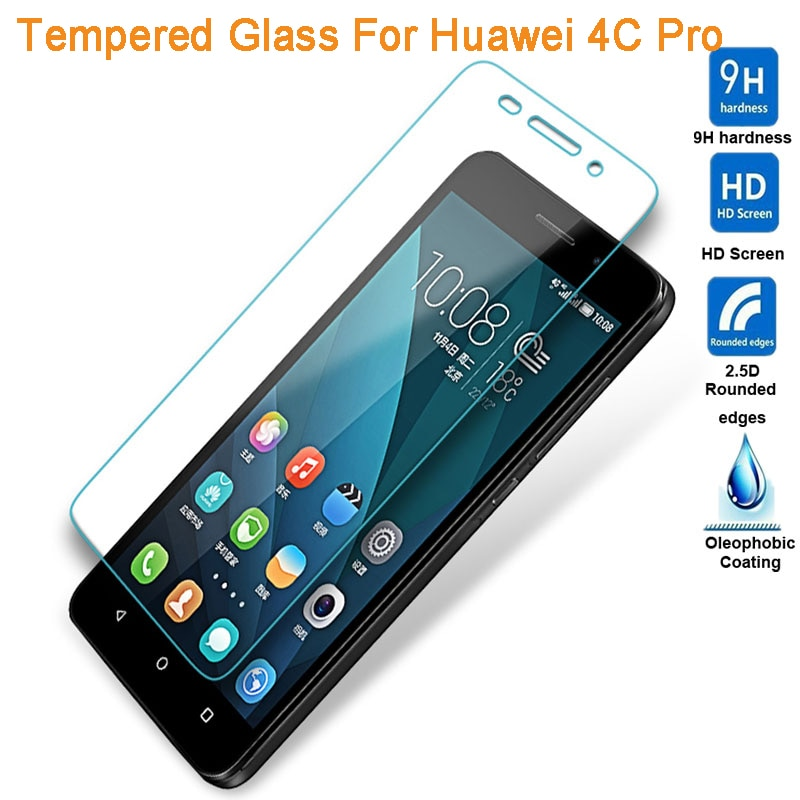 Para Huawei Honor 4 CPro 4C Vidro Pro 9 H Vidro Temperado Para Huawei Honra 4C Pro TIT-L01 Filme Protetor Protetor de Tela de 5.0 Polegada